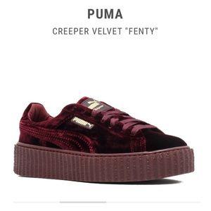 Rihanna FENTY PUMA Velvet Creepers